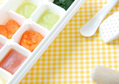 冷凍保存で楽チン!離乳食のフリージングテクニック